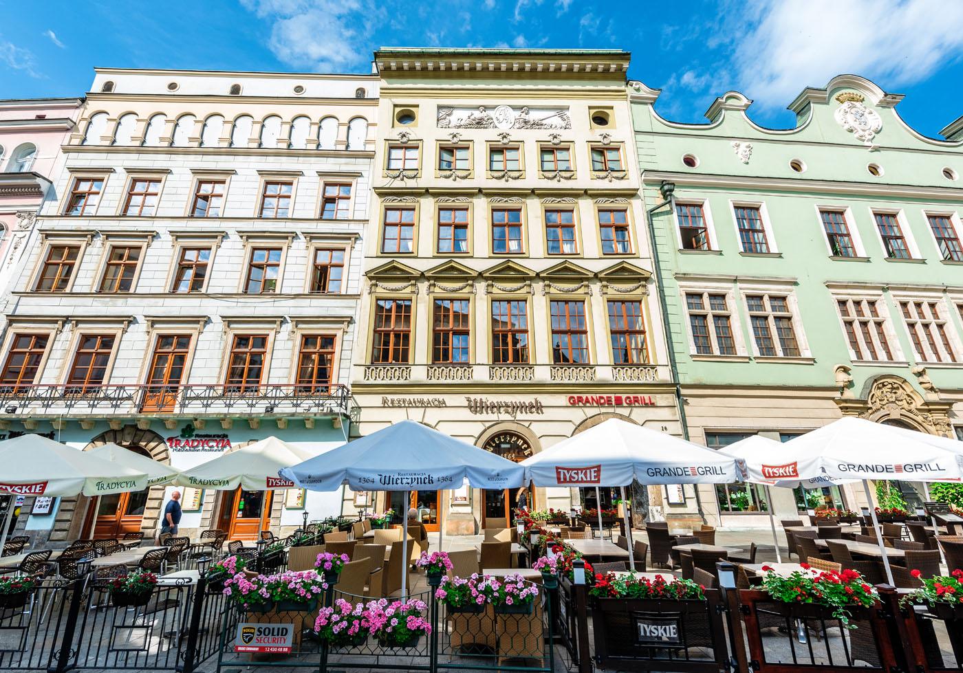 Kamienica Restauracja Wierzynek Rynek Główny 16 Kraków