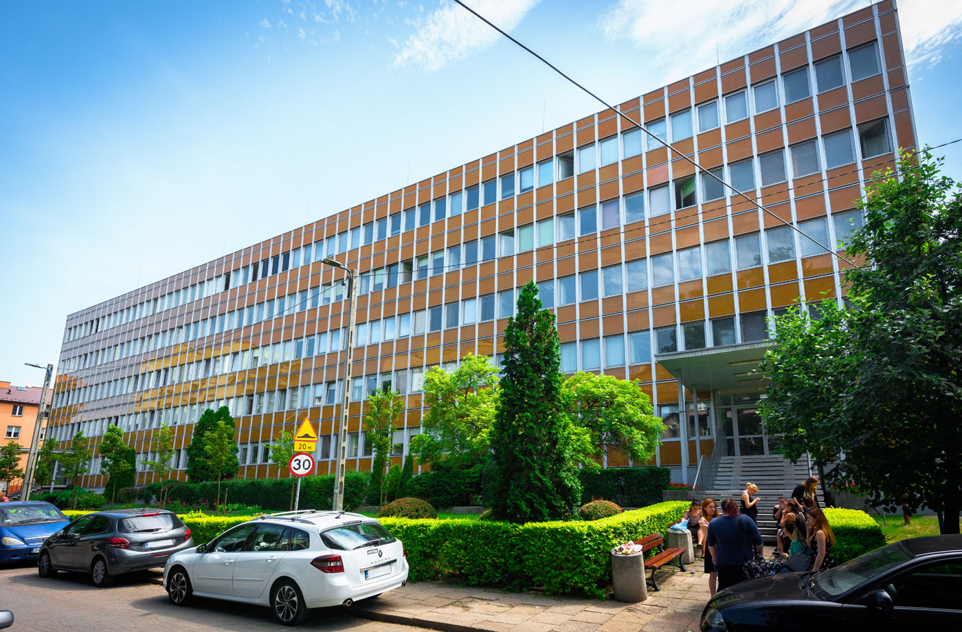 Akademia Górniczo-Hutnicza, budynek Wydziału Nauk Humanistycznych, ul. Gramatyka 8A Kraków