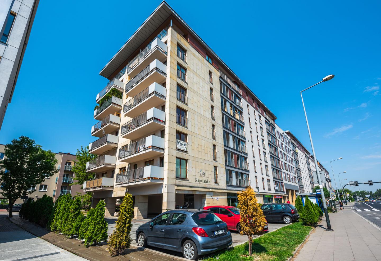 Budynek mieszkalno-komercyjny, ul. Kapelanka 6A, Kraków