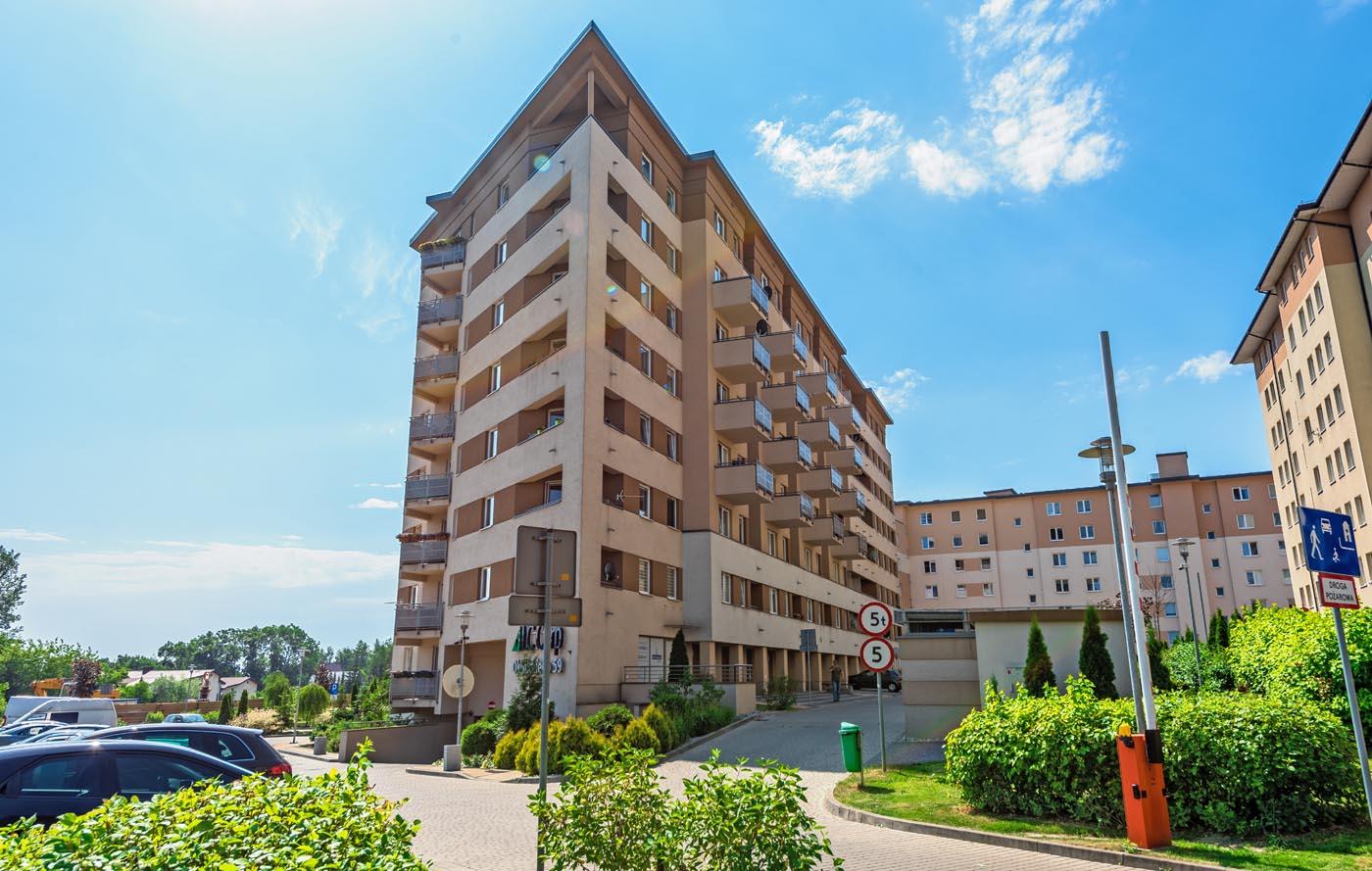 Budynek mieszkalno- usługowy LC CORP, ul. Okulickiego 59, Kraków